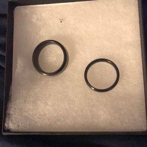 Men's size 10 and women's rings  size 9
